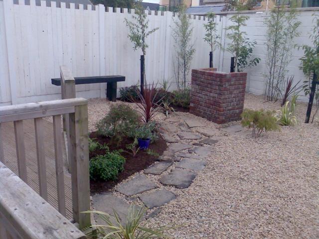 small-garden-pebble garden low maintenance - Peter Donegan ... on Pebble Yard Ideas id=64572