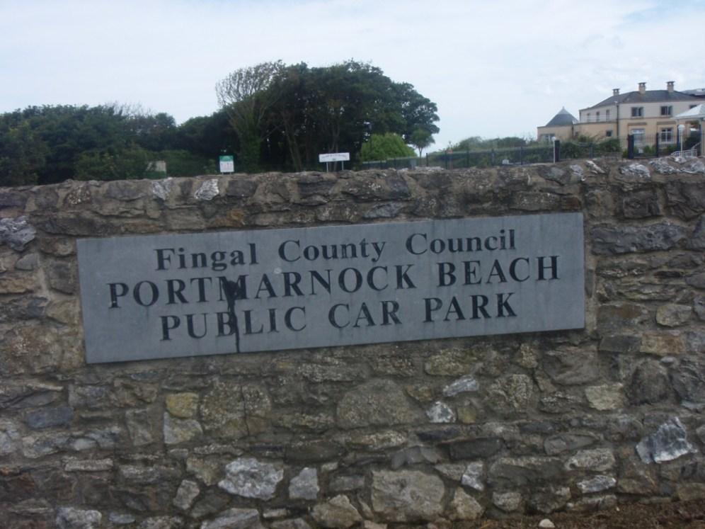 partmarnock beach car park co-dublin-