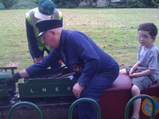 steam train marley park