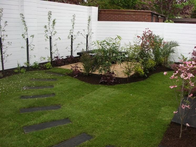 small trees garden