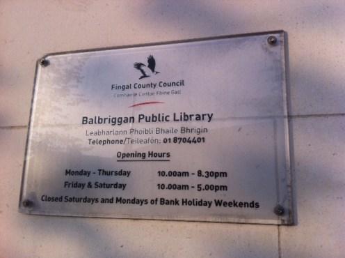 balbriggan fingal library