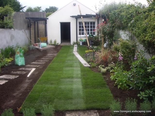 Dublin Landscaping: Domestic Back Garden - Peter Donegan ...