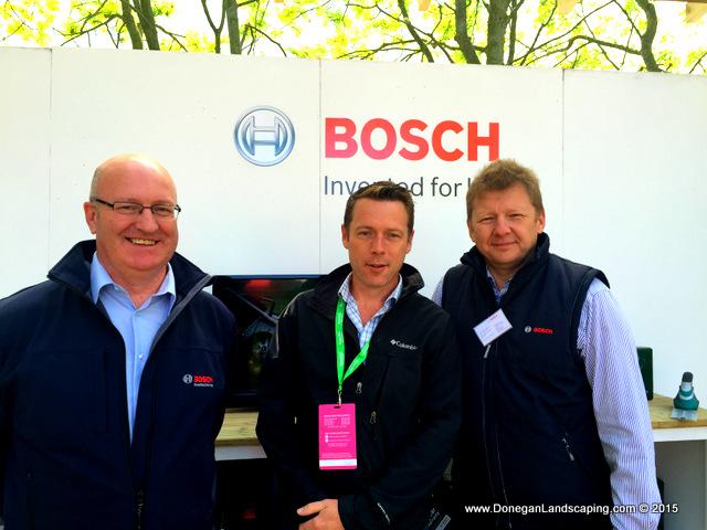 Jean Pierre Lihou, Rodney Keogh, Peter Donegan, Bosch