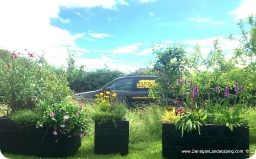 Garden Planters: Handmade and Planted in Dublin, Ireland.