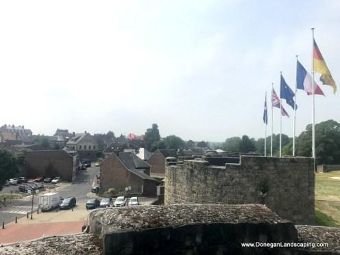 Chateau de Péronne, roof view (2)