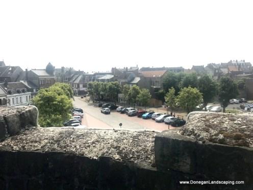 Chateau de Péronne, roof view (3)