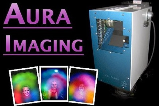 Aura imaging camera