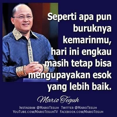 Kata Kata Mutiara Mario Teguh