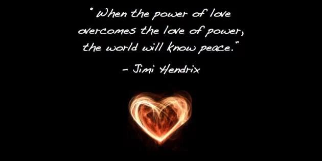 kata mutiara cinta Jimi Hendrix