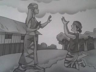 Cerita Rakyat Legenda Nusantara Batu Menangis