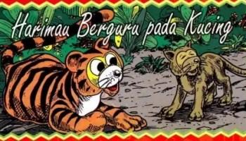 Cerita_Rakyat_Singkat_Harimau_Berguru_Pada_Kucing