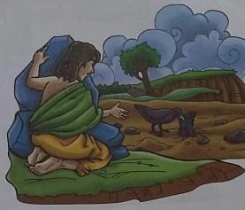 Kisah Anak Nabi Adam As - Qabil melihat burung gagal mengubur gagak mati