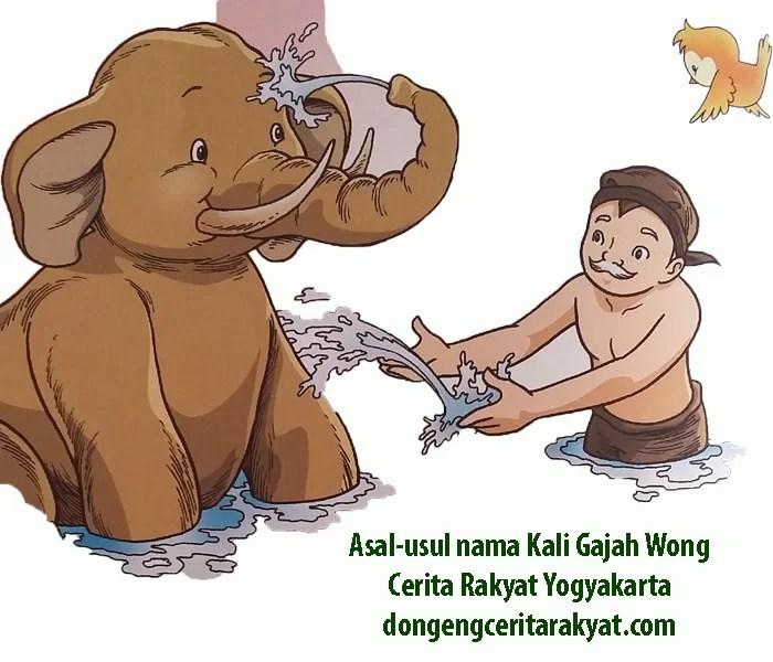 sal-usul nama Kali Gajah Wong Cerita Rakyat Yogyakarta