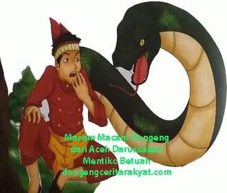 Macam Macam Dongeng dari Aceh Darussalam