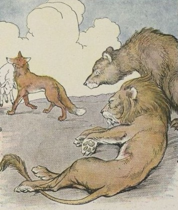 Cerita Binatang Singkat Singa dan Beruang