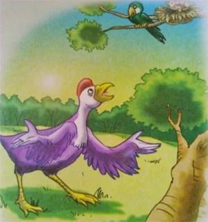 Contoh Dongeng Binatang Seekor Anak Burung yang Membalas Budi