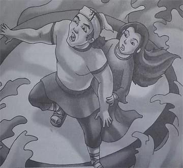 Cerita Rakyat dari Kalteng Asal Usul Danau Malawen