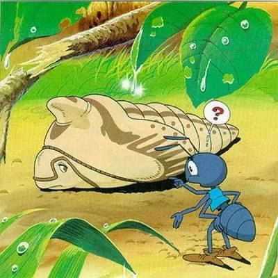 Cerita Fabel Dongeng Pendek Kancil, Ulat dan Semut