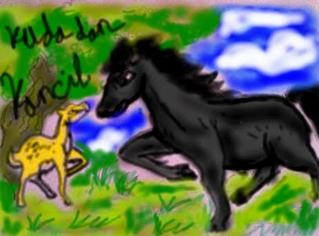 Cerita Anak Bergambar Si Kancil dan Kuda Sombong