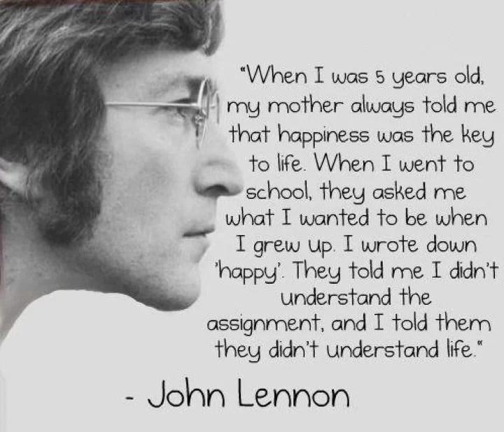 Mutiara Kata-Kata Bijak John Lennon
