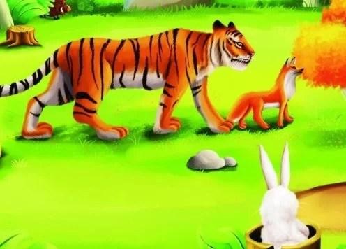 Cerita Fabel Pendek Lomba Lari Harimau