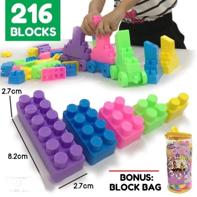 Mainan Edukasi Blok Susun