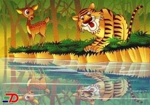 Cerita Pendek Dongeng Si Kancil dan Harimau