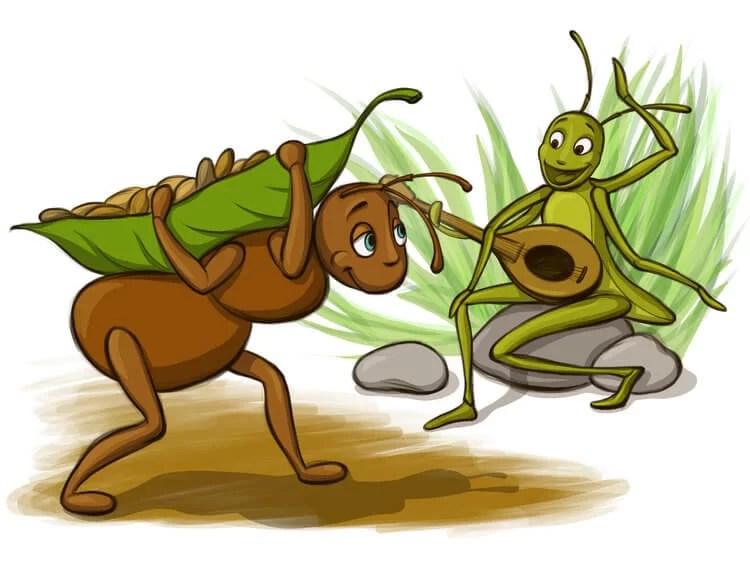 Fabel Semut dan Belalang