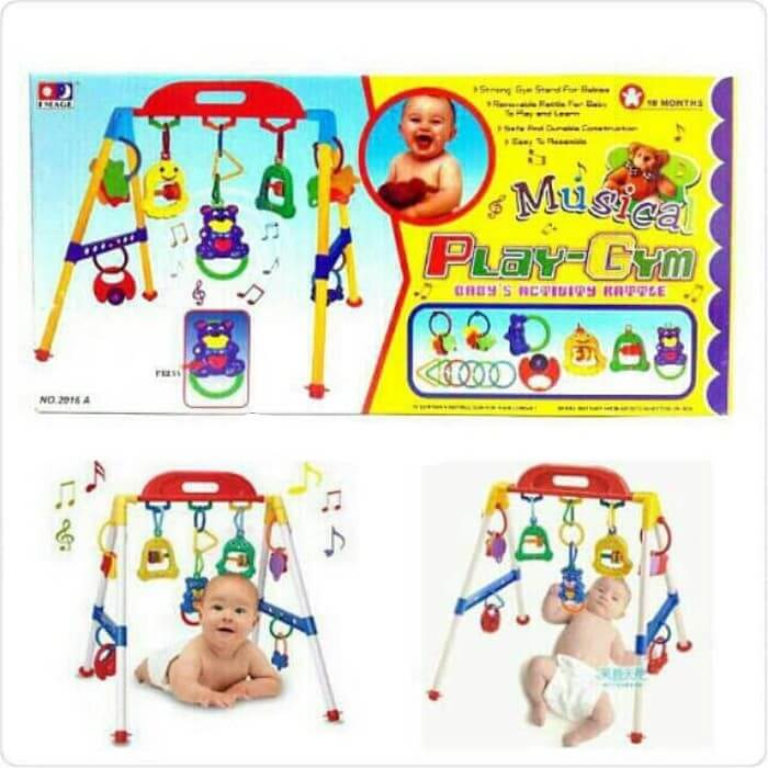 Mainan Edukasi Bayi Baby Musical Play Gym