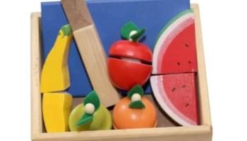 Mainan Edukatif Balok Kayu SNI Motorik Anak Buah Potong