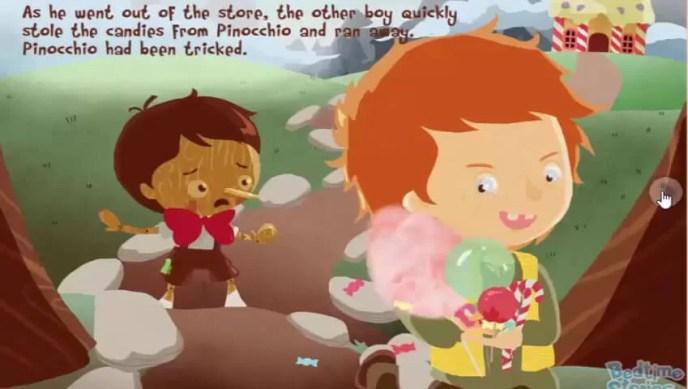 Permen Pinokio dicuri