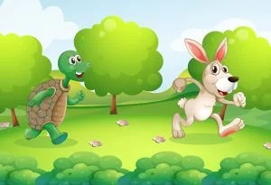 Kura-kura dan Kelinci (The Turtle and the Hare)