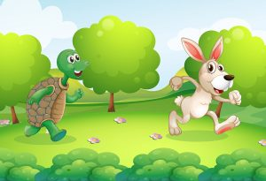 Dongeng Inspiratif Kura-kura dan Kelinci (The Turtle and the Hare)
