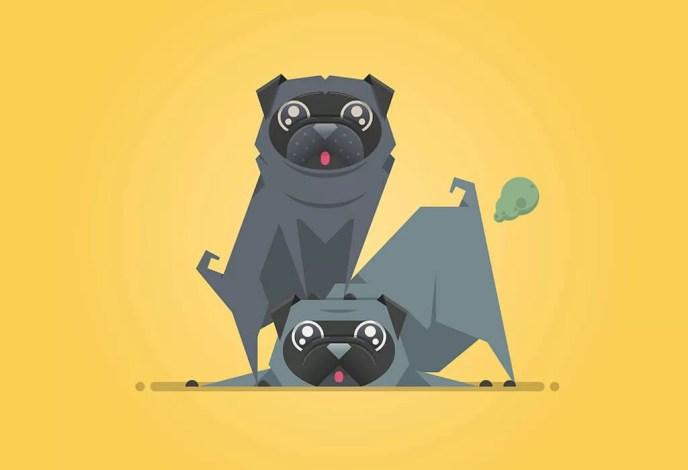 persahabatan anjing peliharaan