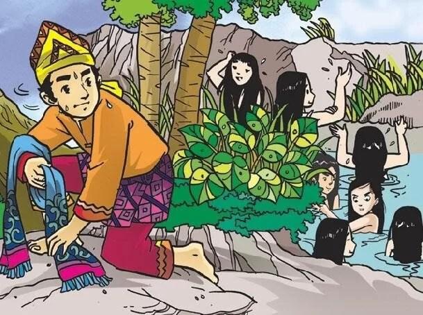 Legenda Jaka Tarub dan Nawang Wulan (Cerita Rakyat Jawa Populer) oleh - bukufiksi.xyz