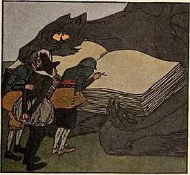 Iblis dan Neneknya Dongeng Cerita Pendek dari Jerman karya Brothers Grimm