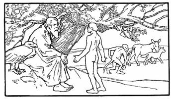 Lama Hidup (The Duration of Life) Cerita Anak Jerman