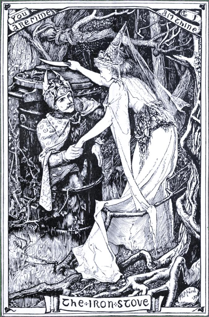 Cerita Pendek Anak Tungku Besi dipopulerkan oleh Brothers Grimm