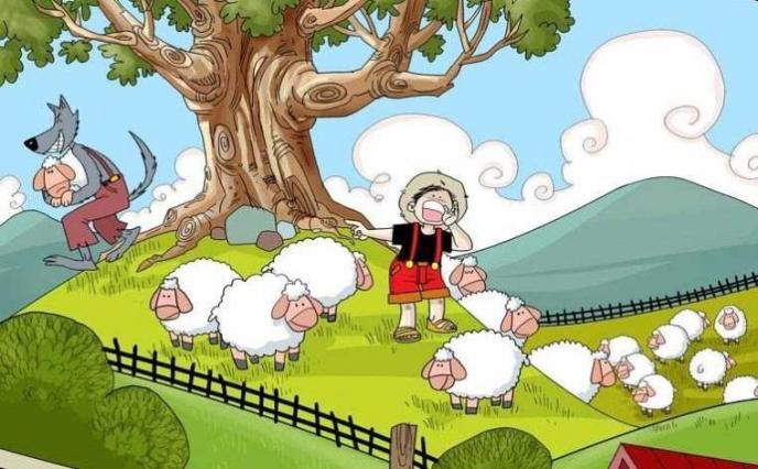 Dongeng Anak Si Penggembala Domba Pembohong