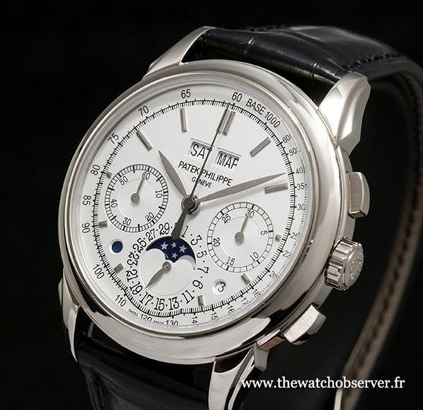 Mãn nhãn với những chiếc đồng hồ trứ danh giá hơn 3 tỷ đồng