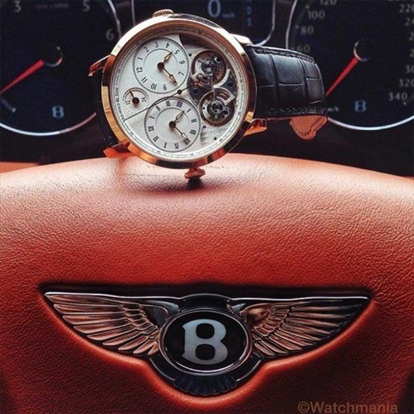 Một hình ảnh khác của Arnold & Son DBG cùng kiệt tác sang trọng mang tên Bentley Continential GT Speed