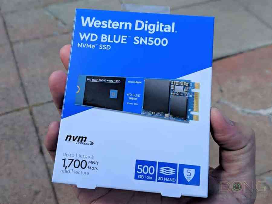 WD Blue SN500 NVMe Solid-State Drive Review - Dong Knows Tech