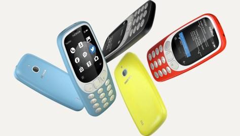Nokia 3310 3G szinek