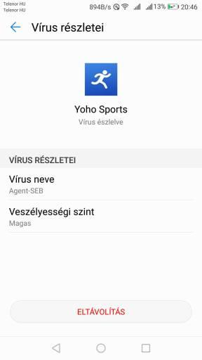 Yoho Sport trojai vírus