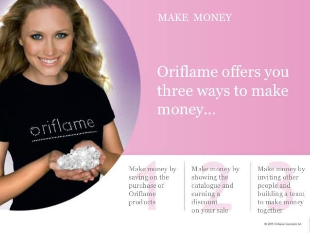 Ba cách kiếm tiền tại Oriflame