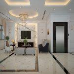 thiết kế nội thất biệt thự tân cổ điển ntnp1130-3