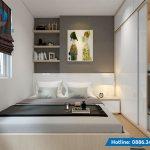 thiết kế nội thất phòng ngủ đẹp hiện đại gọn gàng