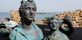 Phát hiện kho báu trong tàu La Mã đắm 1.600 năm trước