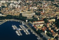 Pula City Harbor