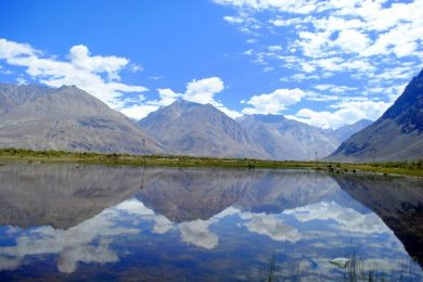 Awesome Reflection in Leh